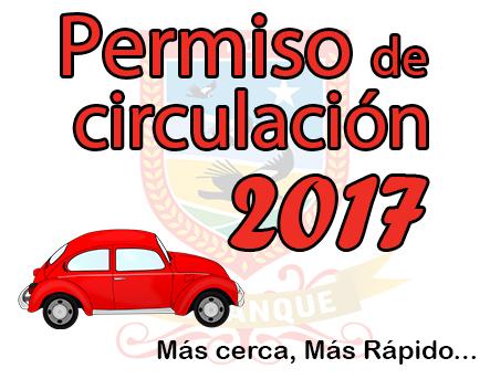 permiso de circulacion web 2017