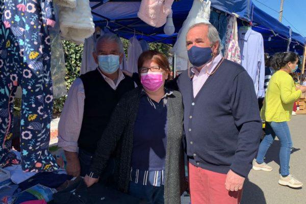 Todo un éxito resultó la Primera Feria Libre de Pumanque