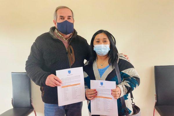 Municipalidad y Recicla Pumanque firman convenio para instalar 20 puntos verdes en la comuna
