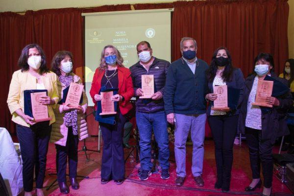 Municipalidad celebró y homenajeó a profesores de la comuna